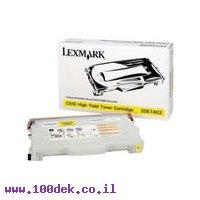 טונר LEXMARK  צהוב C 510   HYמקורי