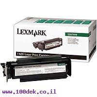 טונר  T420 5K   LEXMARK לקס מרק    מקורי