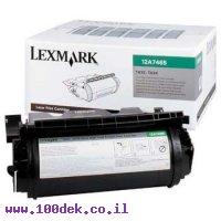 טונר  לקס מרק  LEXMARK   634/632 T 32K מקורי