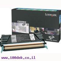 טונר LEXMARK  שחור C522/524 מקורי