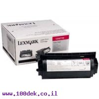 טונר לקס מרק  LEXMARK   10K T420 מקורי