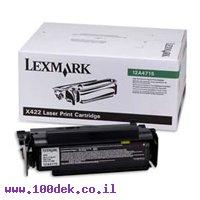 טונר לקס מרק  LEXMARK  422X מקור