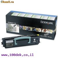 טונר לקס מרק  LEXMARK 340A11G מקורי