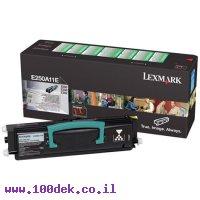 טונר לקסמרק E350/ E250 LEXMARK מקורי