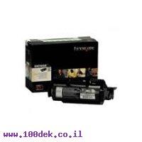 טונר לקסמרק T-640/644   LEXMARK  מקורי