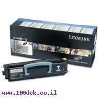 טונר לקסמרק X-342   LEXMARK  מקורי