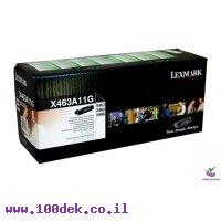 טונר לקסמרק X463/X464 מקורי