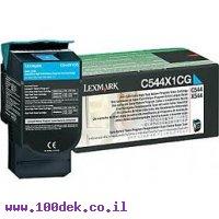 טונר לקסמרק ציאן C544/X544 מקורי