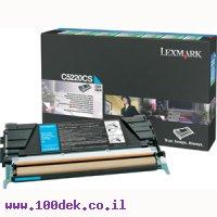 טונר ציאן לקס מרק  LEXMARK 524/522  C מקורי