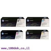טונר תחליפי HP 305/300/400 PRO שחור CE410A
