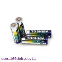 סוללת אלקליין (חד פעמית) AA 1.5V - חבילה של 4 יחידות