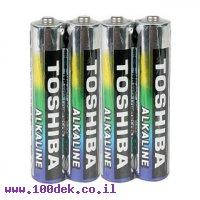 סוללת אלקליין (חד פעמית) AAA 1.5V - חבילה של 4 יחידות