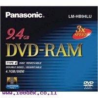 דיסק לצריבה DVD-RAM 9.4GB של FujiFilm