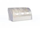 """תמונה של מוצר מתקן מגבת ידיים פלסטי לגלילים 20 ס""""מ"""