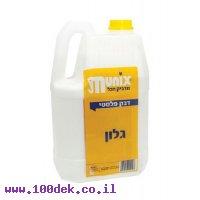 """דבק פלסטי לבן - 1 גלון (4 ק""""ג)"""
