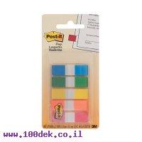 דגלון סימון Post-It -מארז 5 צבעים