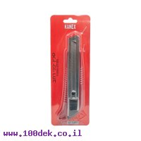 סכין חיתוך רחב גוף פלסטי מוביל מתכת