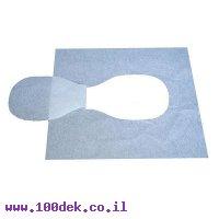 נייר כיסוי לאסלה בקיפול 1/2 - מארז של 5000 יחידות