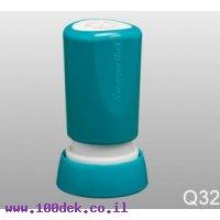 חותמת עגולה 14 ממ Q32 כחול ARTLINE