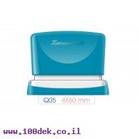 חותמת פטנט Q05 4X60 ARTLINE כחול
